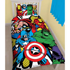 marvel batman duvet cover sets single double king avengers quilt