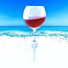 floating wine glasses for the pool floating beach wine glass pool picnic beer bar drinking travel