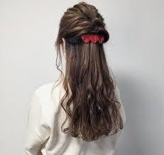 清楚系ハーフアップの基本のやり方はモテる可愛い髪型アレンジ10選も