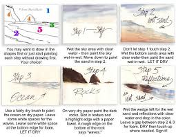 step by step painting instructions