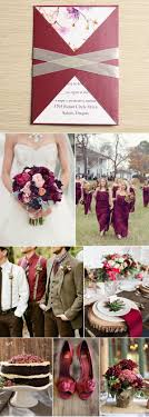 wine red wedding. Ten Beautiful Fall Wedding Invitations To Match Your Wedding Colors
