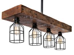 industrial chic lighting. Wooden Farmhouse Light Rustic Decor Chandelier \u2013 Reclaimed Wood From Early  1900s - Great Industrial Chic Industrial Chic Lighting