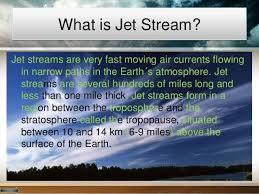 where do jet streams form jet stream