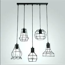 pendant light shade metal lamp shades mixed vintage wire cage hanging chandelier glass australia