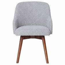 gray swivel office chair 75 vintage wooden. West Elm Saddle Office Chair, In White/gray Stripe, Nearly New Gray Swivel Office Chair 75 Vintage Wooden