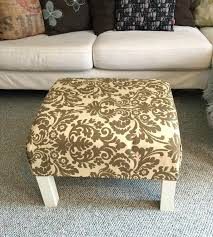 how to make a coffee table ottoman diy ottoman coffee table ikea how to turn