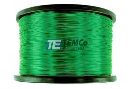 24 awg copper magnet wire mw0408 5 lb magnetic coil green temco temco mw0408 copper magnet wire