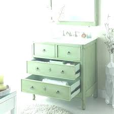 retro bathroom sink decor inch vintage vanity mint green decorat