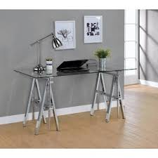 Collapsible Sawhorse Gilley Adjustable Desk With Sawhorse Legs Wayfair Sawhorse Desk Legs Wayfair