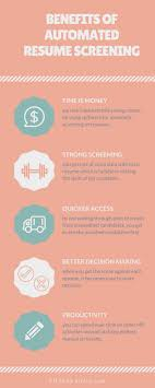 Aircto Infographic Benefits Of Automated Resume Screening