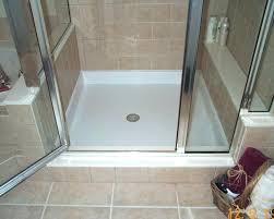 shower floor repair how