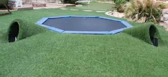 in ground trampoline. Is Installing Inground Trampoline Good Idea? In Ground E