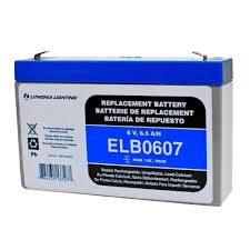 Lithonia Emergency Light Battery Lithonia Lighting 6 Volt 7 Amp Hours Replacement Battery For