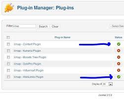 activate xmap plugins