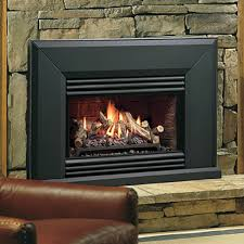 kingsman vfi25 vented gas fireplace insert woodlanddirect com indoor fireplaces gas inserts
