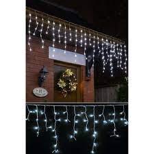 Led Saçak Perde 2 x 0,50 Metre Dekoratif Aydınlatma Beyaz Işık Fiyatları ve  Özellikleri