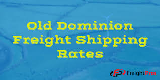 Freight Quote Ltl Impressive Old Dominion Freight Shipping Rates Old Dominion LTL Freight Quotes