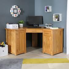 home office desks ideas photo. New London Solid Oak Corner Home Office Desk Regarding Desks Idea 18 Ideas Photo
