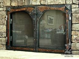 impressive fireplace screen with glass doors fireplace screen vs glass doors intended for glass fireplace screens with doors attractive