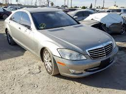 Transportation across the usa and worldwide. Auto Auction Ended On Vin Wddng71x77a115954 2007 Mercedes Benz S 550 In Ca Los Angeles