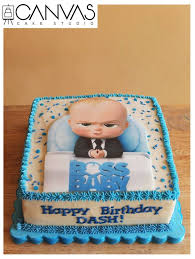 Boss Baby Cake Size 8x8 Square For Canvas Cake Studio Facebook