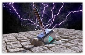 mjolnir thors hammer ultra hd desktop
