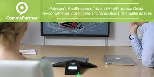 polycom realpresence debut conferencing for smaller rooms