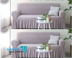 slip elastic sofa covers 5 seater light