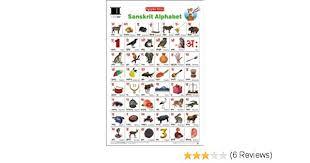 Sanskrit Varnamala Chart With Pictures Pdf Buy Educational Charts Sanskrit Alphabet Book Online At