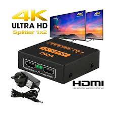 4K 3D HDMI Splitter UHD for TV Mon (end 11/13/2022 12:00 AM)