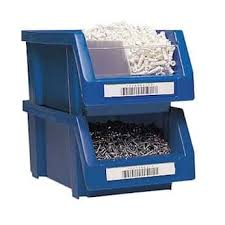 Lid snaps tight, keeping contents secure within. Heavy Duty Stackable Storage Bin 8 1 4 X 6 1 2 X 13 7 8 8 Pack From Cole Parmer