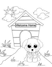 Beanie Boo Coloring Pages Only Color Bros