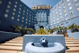 commercial painting contractor scientology building south entrance hollywood