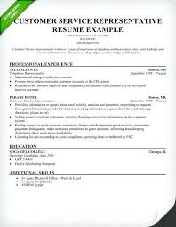 Customer Service Resume Skills Examples Best of Free Sample Resume For Customer Service Representative Francistan