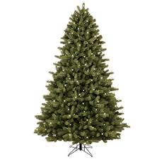 GE 7.5-ft Pre-lit Colorado Spruce Artificial Christmas Tree with 600 Color  Changing