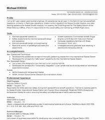 Chief Engineer Resume Sample Engineering Resumes Livecareer