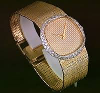 iorio fine jewellery iorio jewellery page miscellaneous mens bueche girod original 18kt yellow gold case and bracelet 80 diamonds on the bezel 1 32 carats total weight vs2 to si in clarity g to h in colour
