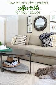 How To Choose The Right Coffee Table For Your Space Average But Inspired