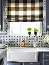 Kitchen Window Designer Kitchen Window Treatments Hgtv Pictures Ideas Hgtv
