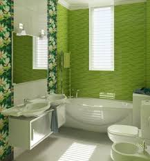 Bathroom Shower Tile Ideas  Material, Color and Pattern  Green flower  pattern bathroom tile ideas