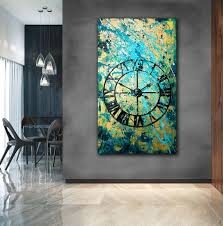 abstract painting acrylic large wall