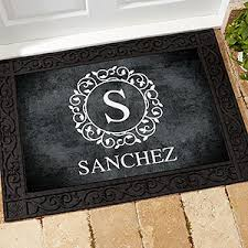 Image Ideas Circle Personalization Mall Personalized Doormats Welcome Mats Personalization Mall