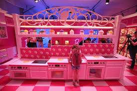 Barbie Kitchen Furniture Photos Of The Ridiculous Life Sized Barbie Dreamhouse In Berlin