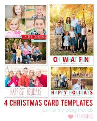 Free Christmas Card Templates Photoshop Under Fontanacountryinn Com