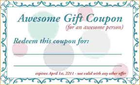Coupon Outline Template Coupon Template Blank Coupons Templates Each Of These Love