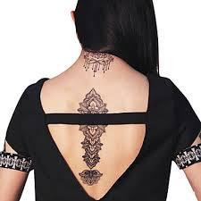 239 Přenosu Krajka Voda Samolepky Dočasné Pvc Henna Tetování Nálepka Tisk Airbrush Tetování Blány