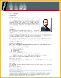 Employee Bio Template Chef Professional Bio Format Biodata Free Download Template Personal