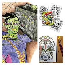 art with edge coloring books for tweens and s makes coloring in the lines cool again