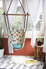 hanging swing chair for bedroom. 8 diy hanging chairs you need in your home swing chair for bedroom o