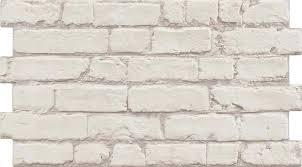 rustic masonry dove white brick effect
